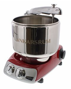 Ankarsrum Assistent Original 6230 keukenmachine Red Metallic
