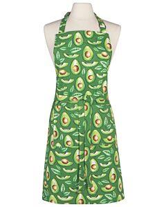 Now Designs Avocados schort 85 x 70 cm katoen groen