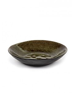 Serax Pure diep bord ø 23,5 cm keramiek grijs