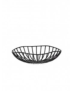 Serax Catu broodmand ø 20 cm h 6 cm ijzer zwart