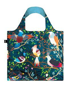 Loqi H&H - Birds opvouwbaar tasje polyester