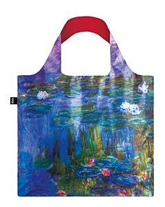 Loqi Museum Collection - Water Lilies opvouwbaar tasje polyester