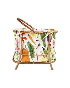 Yvette van Boven Bamboo Grocery Basket 42 x 22 x 35 cm