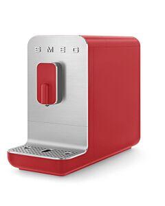 SMEG Basic volautomatische espressomachine mat rood