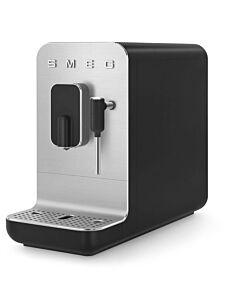 SMEG 50's style Medium volautomatische espressomachine mat zwart