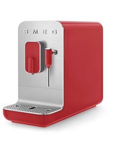 SMEG 50's style Medium volautomatische espressomachine mat rood