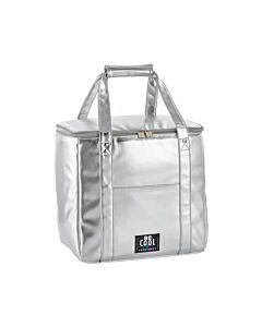 Be Cool City Shopper XL koeltas 35 liter zilver