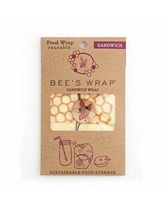 Bee's Wrap Sandwich herbruikbare Food Wrap 33 x 33 cm