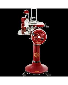 Berkel Volano Tribute vliegwielsnijmachine ø 30 cm met voet rood