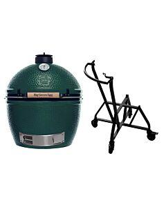 Big Green Egg Extra Large barbecue ø 67,5 cm keramiek groen met IntEGGrated Nest en Handler