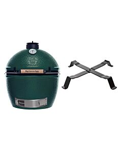 Big Green Egg Extra Large barbecue ø 67,5 cm keramiek groen met Table Nest