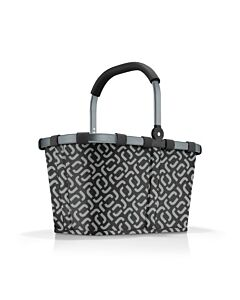Reisenthel Carrybag boodschappenmand 48 x 28 cm polyester Frame Signature Black