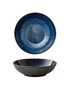 Bitz pastabord ø 20 cm aardewerk Black/Dark Blue