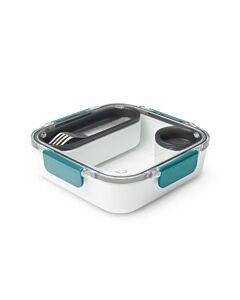 Black+Blum lunchbox 1 liter kunststof Ocean 4-delig