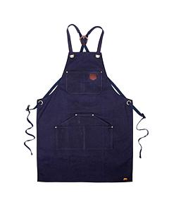 Alaskan Maker N°515 schort katoen zeeblauw