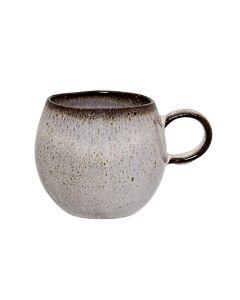 Bloomingville Sandrine kop ø 8,5 cm h 8 cm aardewerk grijs