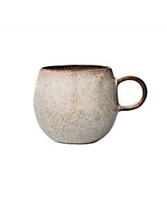 Bloomingville Sandrine mok ø 10,5 cm h 9,5 cm aardewerk grijs