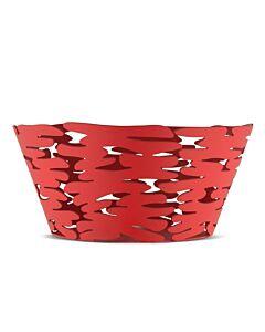 Alessi Barket schaal ø 21 cm rvs rood