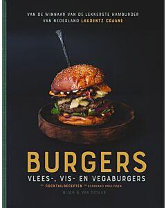 Burgers : de lekkerste vlees-, vis- en vegaburgers
