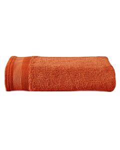 De Witte Lietaer Excellence handdoek 60 x 40 cm katoen burnt orange