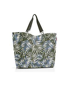 Reisenthel Shopper XL boodschappentas 68 x 20 cm polyester Jungle Trail Green