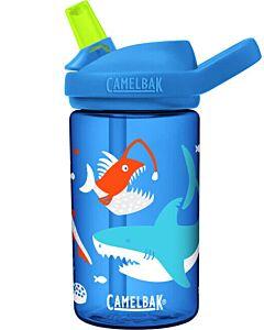Camelbak Eddy Kids drinkfles 400 ml kunststof Glow in the dark Shark