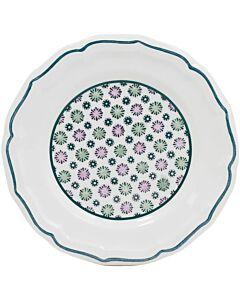 Gien Dominoté Artifices gebaksbord ø 16,5 cm keramiek
