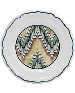 Gien Dominoté Louis XIII gebaksbord ø 16,5 cm keramiek
