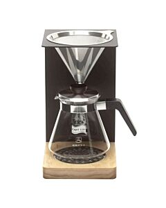 Capri Life slowcoffee dripstation 500 ml - 5-kops met permanentfilter