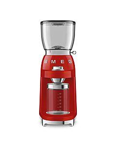 SMEG 50's style koffiebonenmolen 350 gr rood