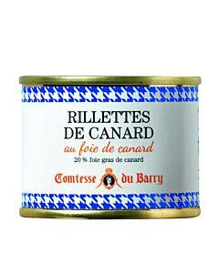 Comtesse du Barry rillette van eend 70 gram
