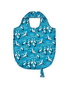 Ulster Weavers Cranes opvouwbaar tasje blauw