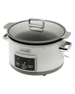 Crock-Pot DuraCeramic Sauté slowcooker 5 liter wit