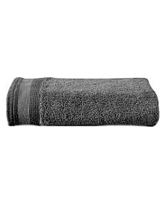 De Witte Lietaer Excellence handdoek 60 x 40 cm katoen dark grey