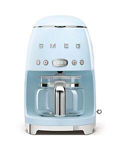 SMEG 50's style koffiezetapparaat kunststof pastelblauw