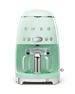 SMEG 50's style koffiezetapparaat kunststof watergroen