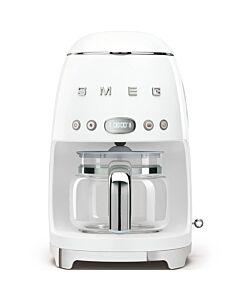 SMEG 50's style koffiezetapparaat kunststof wit
