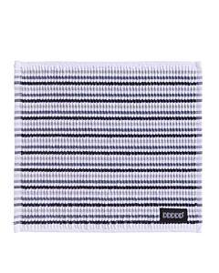 Oldenhof Fun Clean vaatdoek 30 x 30 cm katoen grijs/zwart/wit