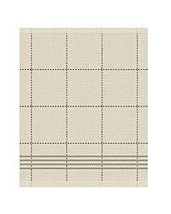 Oldenhof Morvan handdoek 50 x 55 cm biologisch katoen crème