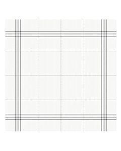Oldenhof Morvan theedoek 60 x 65 cm biologisch katoen wit