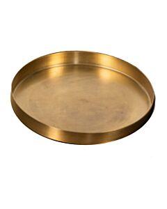 Oldenhof kaarsenplateau ø 35 cm metaal goudkleurig
