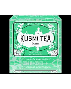 Kusmi Tea Detox thee 20 zakjes mintgroen