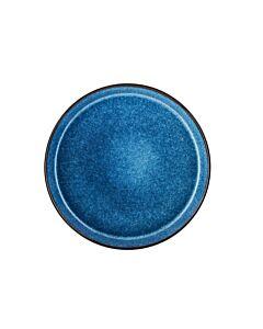 Bitz dinerbord ø 27 cm aardewerk Black/Dark Blue