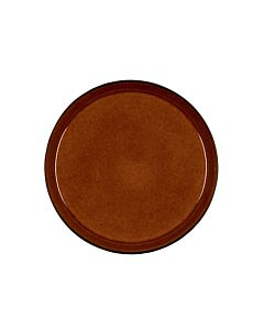 Bitz dinerbord ø 27 cm aardewerk Black/Amber