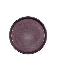 Bitz dinerbord ø 27 cm aardewerk Black/Lilac