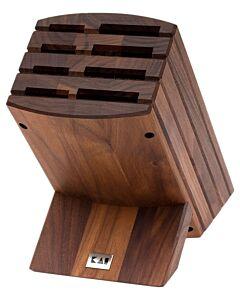 Kai Shun messenblok 31 cm voor 8 messen walnoothout