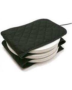 Hot Ideas Extra Large bordenwarmer voor 12 borden zwart