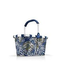 Reisenthel Carrybag boodschappenmand 48 x 28 cm polyester Jungle Space Blue