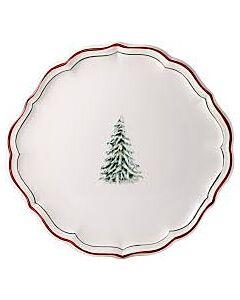Gien Filet Noël taartplateau ø 31,7 cm keramiek