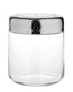 Alessi Dressed voorraadpot 750 ml rvs glas